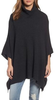 Women's Halogen Wool & Cashmere Poncho $149 thestylecure.com