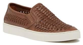 Frye Gabe Woven Leather Slip-On Sneaker