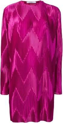 Givenchy pleated midi dress