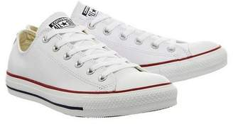 Converse **All Star Low Leather Trainers by supplied by Office