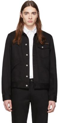 Nudie Jeans Black Tommy Denim Jacket