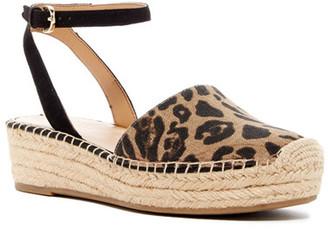 Franco Sarto Lariza Espadrille Platform Sandal $89 thestylecure.com