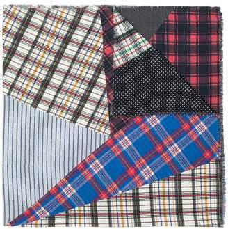 Loewe patchwork scarf