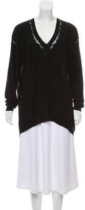 Ann Demeulemeester Oversize Long Sleeve Knit Top