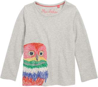 Boden Mini Superstitch Applique Tee(Toddler Girls, Little Girls & Big Girls)