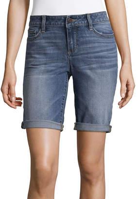 A.N.A Modern Fit Denim Bermuda Shorts