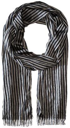 John Varvatos Star U.S.A. Fine Stripe Scarf $75 thestylecure.com