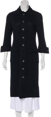 St. John Long Wool Coat