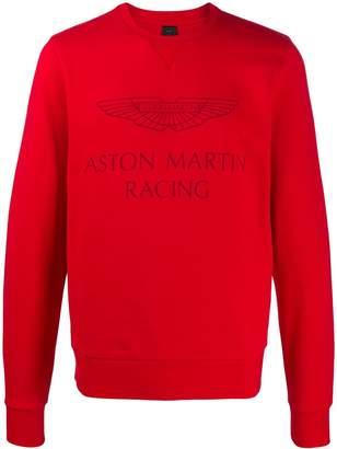 Hackett 'Aston Martin Racing' print sweatshirt