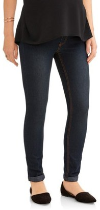 4729809dd3b Oh! Mamma Maternity Full Panel Boyfriend Skinny Jeans - Available in Plus  Sizes