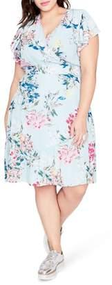 Rachel Roy Easy Crossover Dress