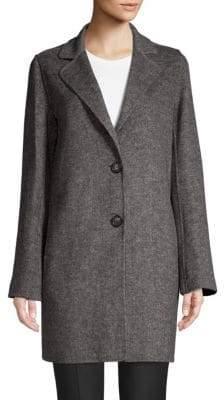T Tahari Jayden Handmade Twill Coat