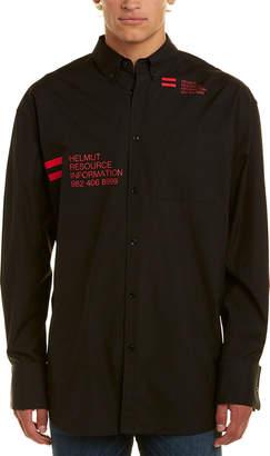 Helmut Lang Graphic Woven Shirt