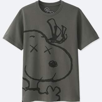 UNIQLO Men's Kaws X Peanuts Short-sleeve Graphic T-Shirt $14.90 thestylecure.com