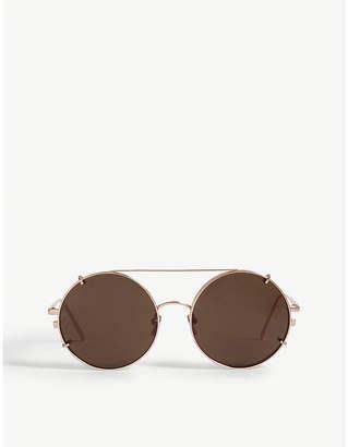 Linda Farrow LFL647 round sunglasses