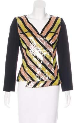 Chanel Sequined Wrap Top