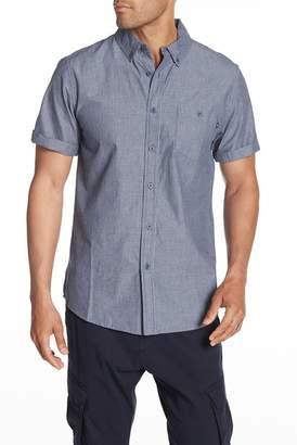 Obey Clement Woven Short Sleeve Regular Fit Shirt