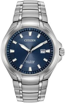 Citizen Paradigm Eco-Drive Titanium Bracelet Watch