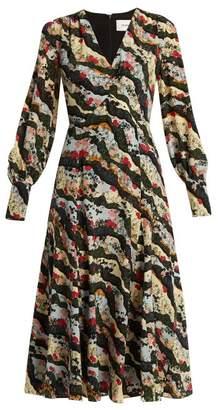 Erdem Osiris silk crepe de Chine dress