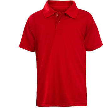 U.S. Polo Assn. USPA Short-Sleeve School Uniform Performance Polo - Preschool Boys 4-7