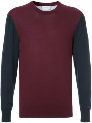 Cerruti contrast sleeve sweatshirt