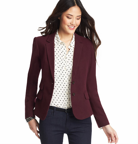 LOFT Elbow Patch Blazer