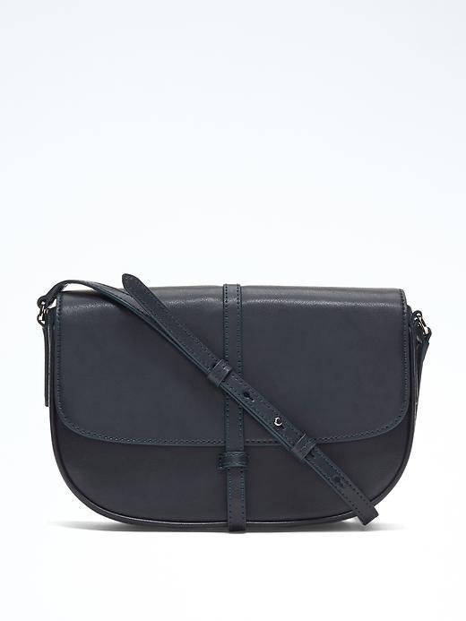 Banana Republic  Half Moon Flap Crossbody