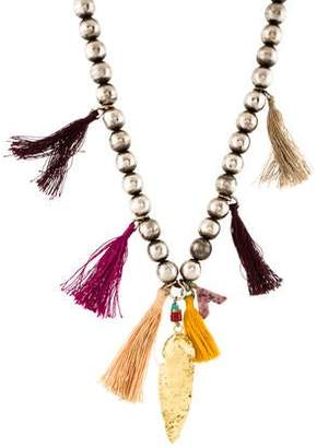 Lizzie Fortunato Beaded Arrowhead Necklace