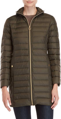 MICHAEL Michael Kors Packable Removable Hood Down Coat