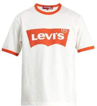 Junya Watanabe - X Levi's Cotton T Shirt - Mens - White