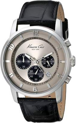 Kenneth Cole New York Men's KC1993 Dress Sport Chronograph Dial 3-Sub Eyes Watch