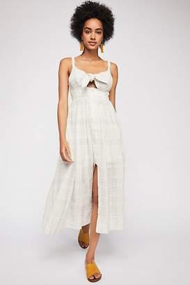 Shona Joy Tie Front Midi Dress