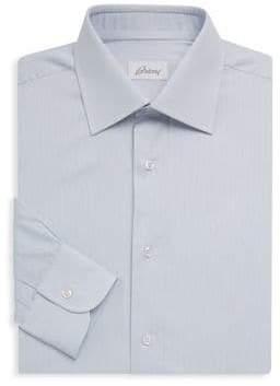 Brioni Fine Stripe Cotton Shirt