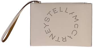 Stella McCartney Beige Pierced Clutch