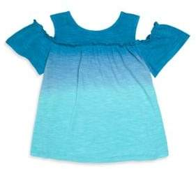 Design History Toddler's& Little Girl's Cold-Shoulder Top