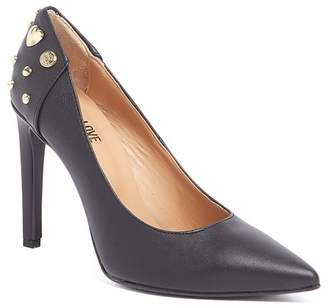Love Moschino Studded Pointed Toe Pump