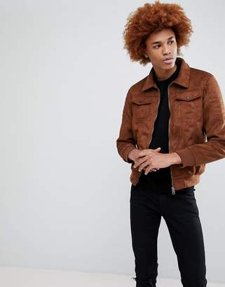 Criminal Damage Niro Suedette Jacket