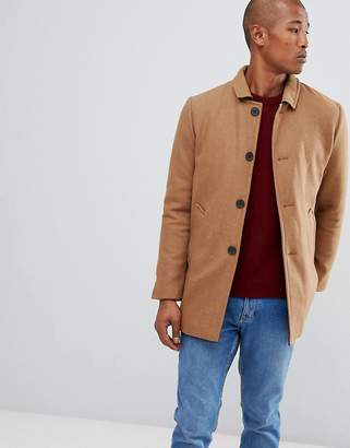 Selected Wool Trench Coat
