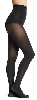 DKNY Luxe Suede Jersey Tights