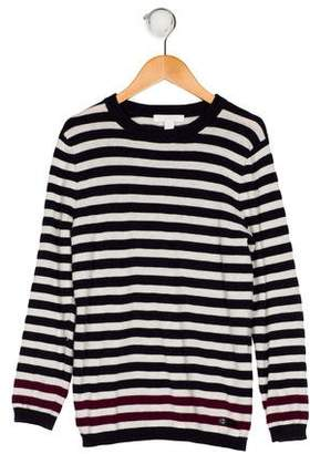 Burberry Boys' Striped Cashmere-Blend Sweater