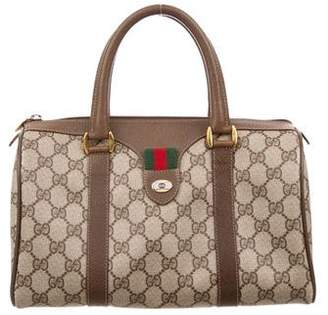 Gucci Vintage GG Plus Boston Bag