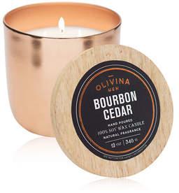 Olivina MEN Bourbon Cedar Candle