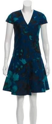 Behnaz Sarafpour Jacquard Mini Dress