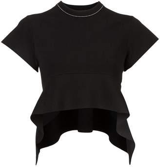 Proenza Schouler Compact Knit Short Sleeve Top