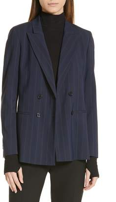 HUGO Anandas Pinstripe Suit Jacket