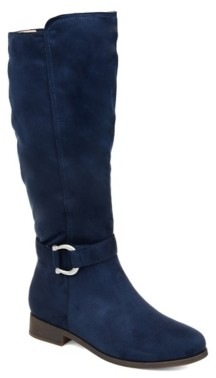 Journee Collection Cate Wide Calf Riding Boot