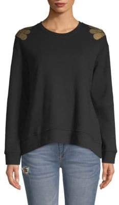 Kenneth Cole Embellished Sweatshirt