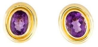 Tiffany & Co. 18K Amethyst Earclips
