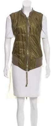 Greg Lauren High-Low Zip Front Vest