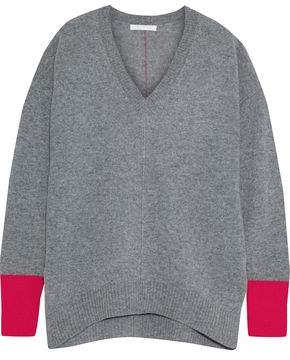 Duffy Neon-trimmed Cashmere Sweater